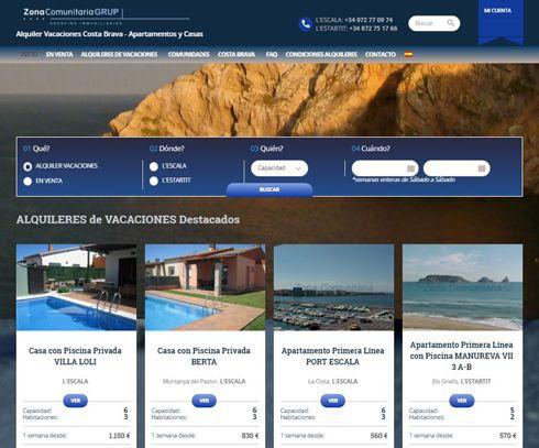 nueva web para Zona Comunitaria Grup