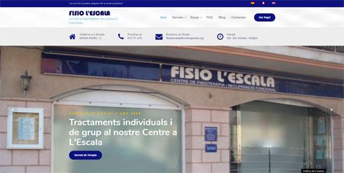 Nueva web para Fisio L'Escala