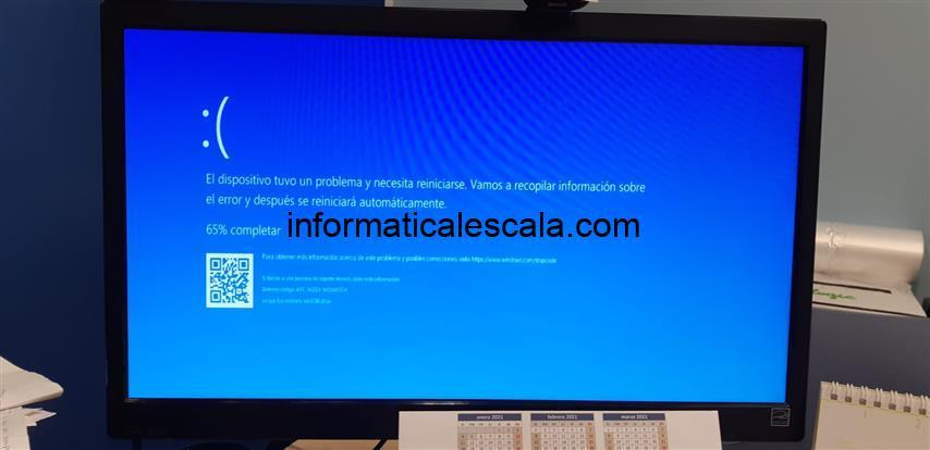 Missatge d'error 'APC INDEX MISMATCH – win32kfull.sys' en sistemes Windows 10 i impressora KYOCERA (actualitzat)